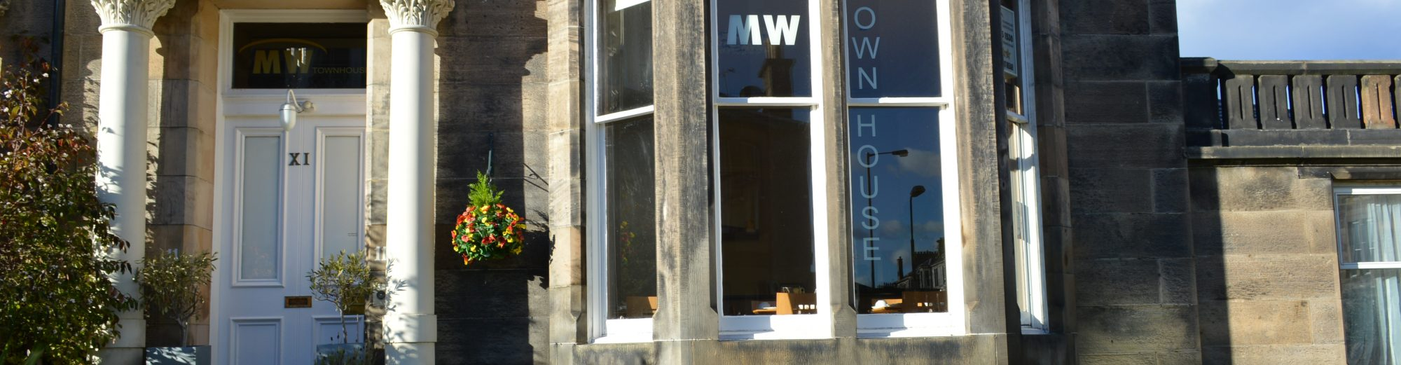 The MW Townhouse Guesthouse in Edinburgh